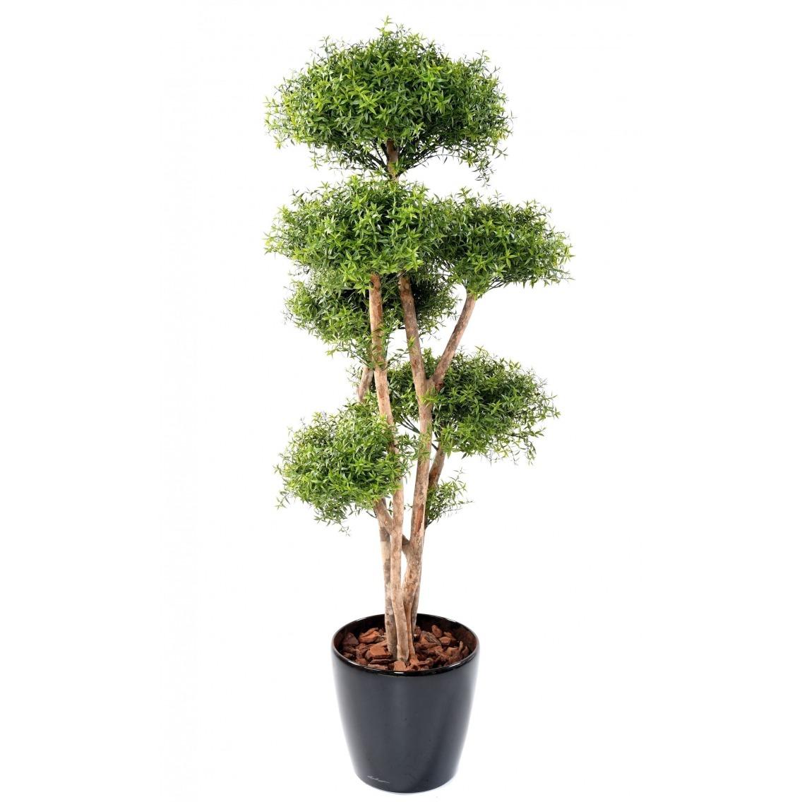 Eucalyptus artificiel à 6 têtes