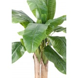 Bananier artificiel à trois troncs