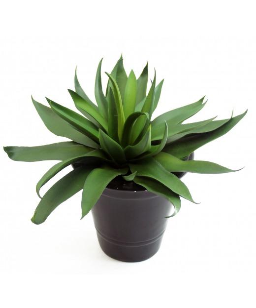 Agave vert artificiel 20 cm