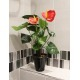 Petit anthurium artificiel