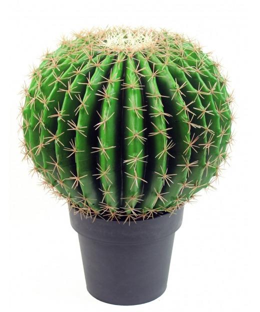 Échinocactus artificiel 30 cm