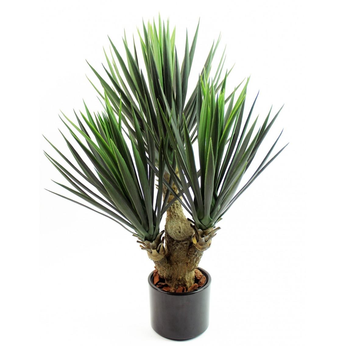 Yucca artificiel à trois têtes