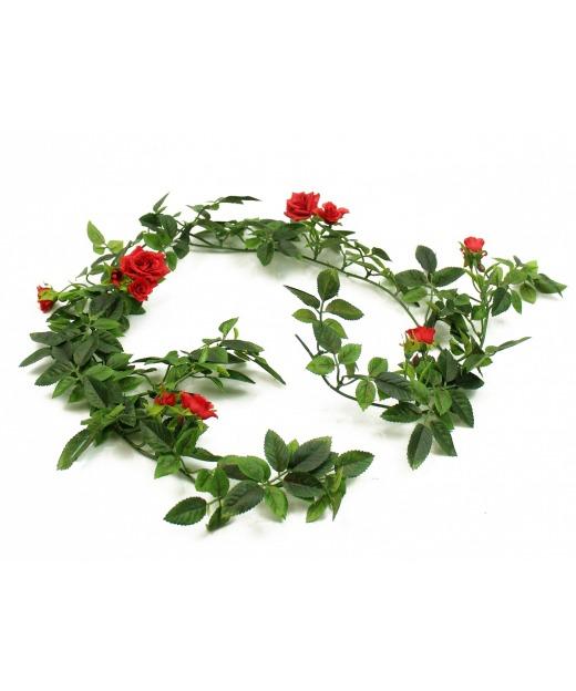 Guirlande de roses artificielles 100 cm