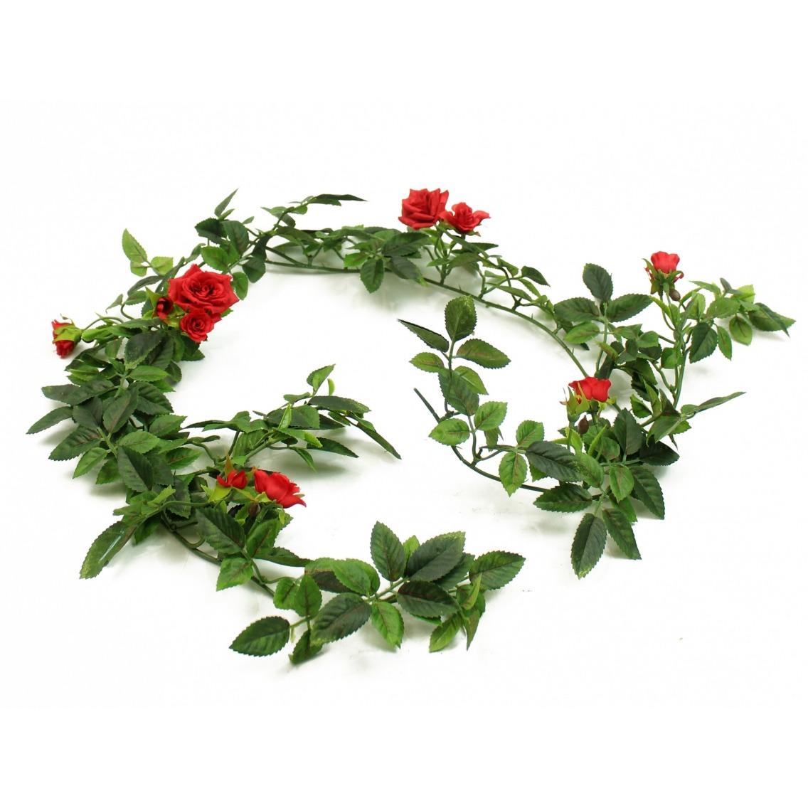 Guirlande de roses artificielles