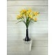 Freesia jaune artificiel