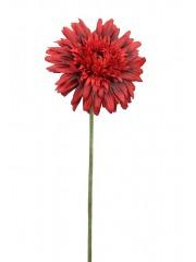 Fleur de gerbera rouge artificielle