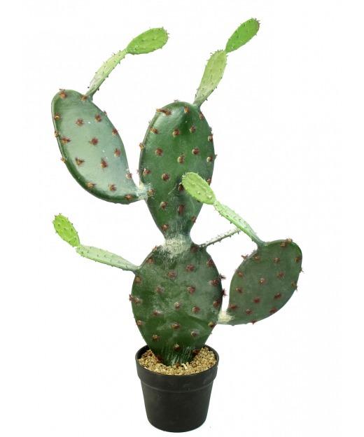Cactus opuntia artificiel 75 cm