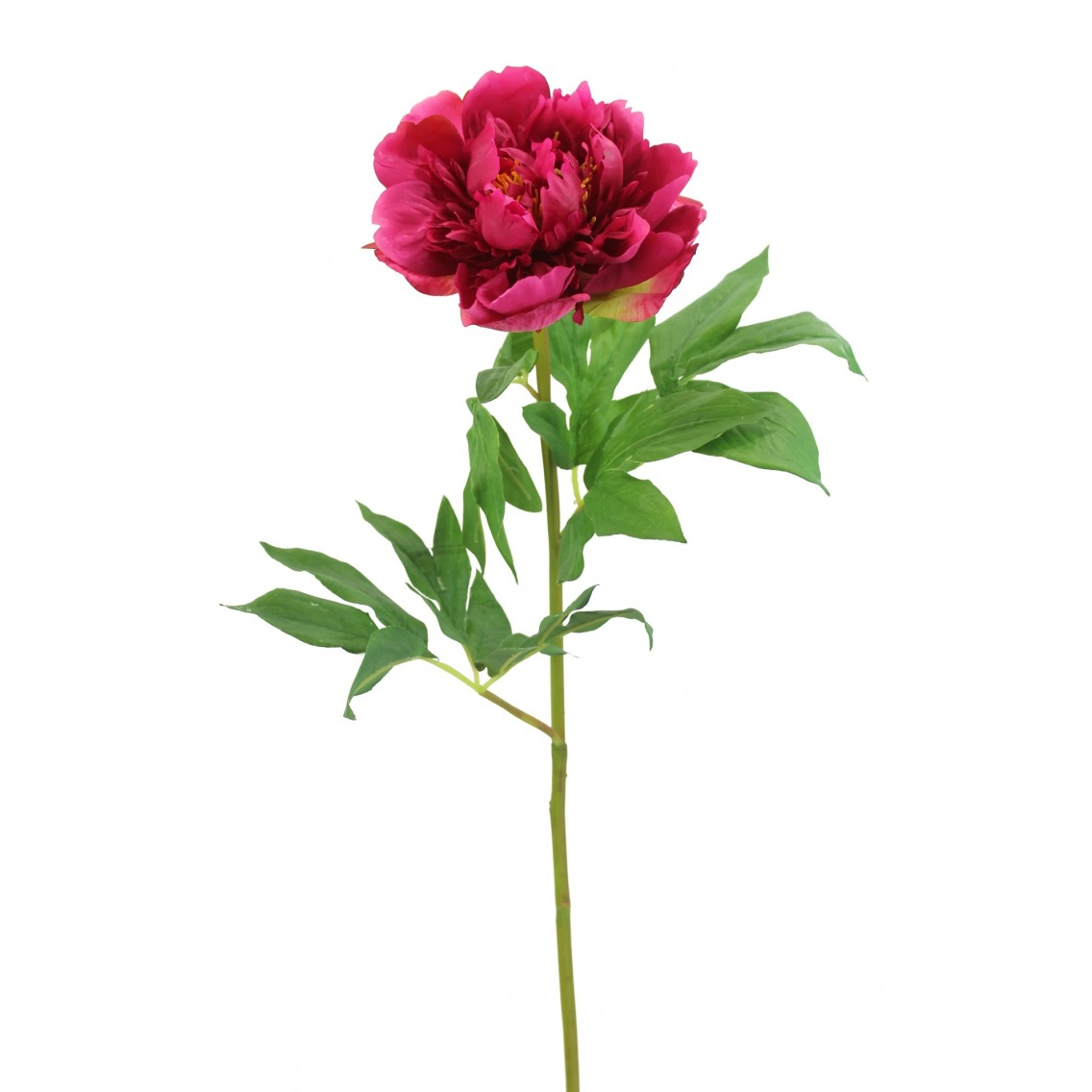 Pivoine artificielle rouge fuchsia
