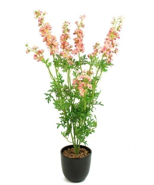 Delphinium artificiel rose 70 cm