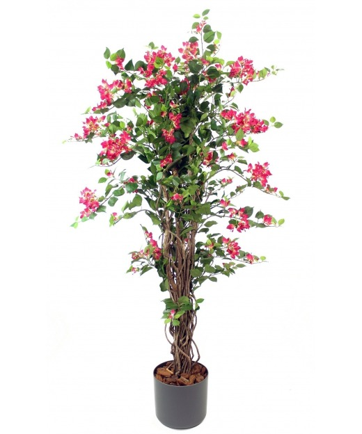 Bougainvillier rose artificiel 180 cm