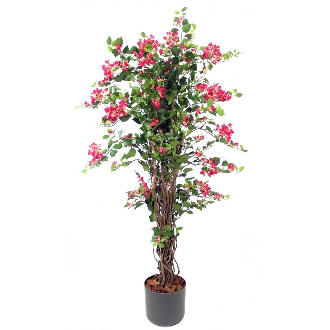 Bougainvillier rose artificiel