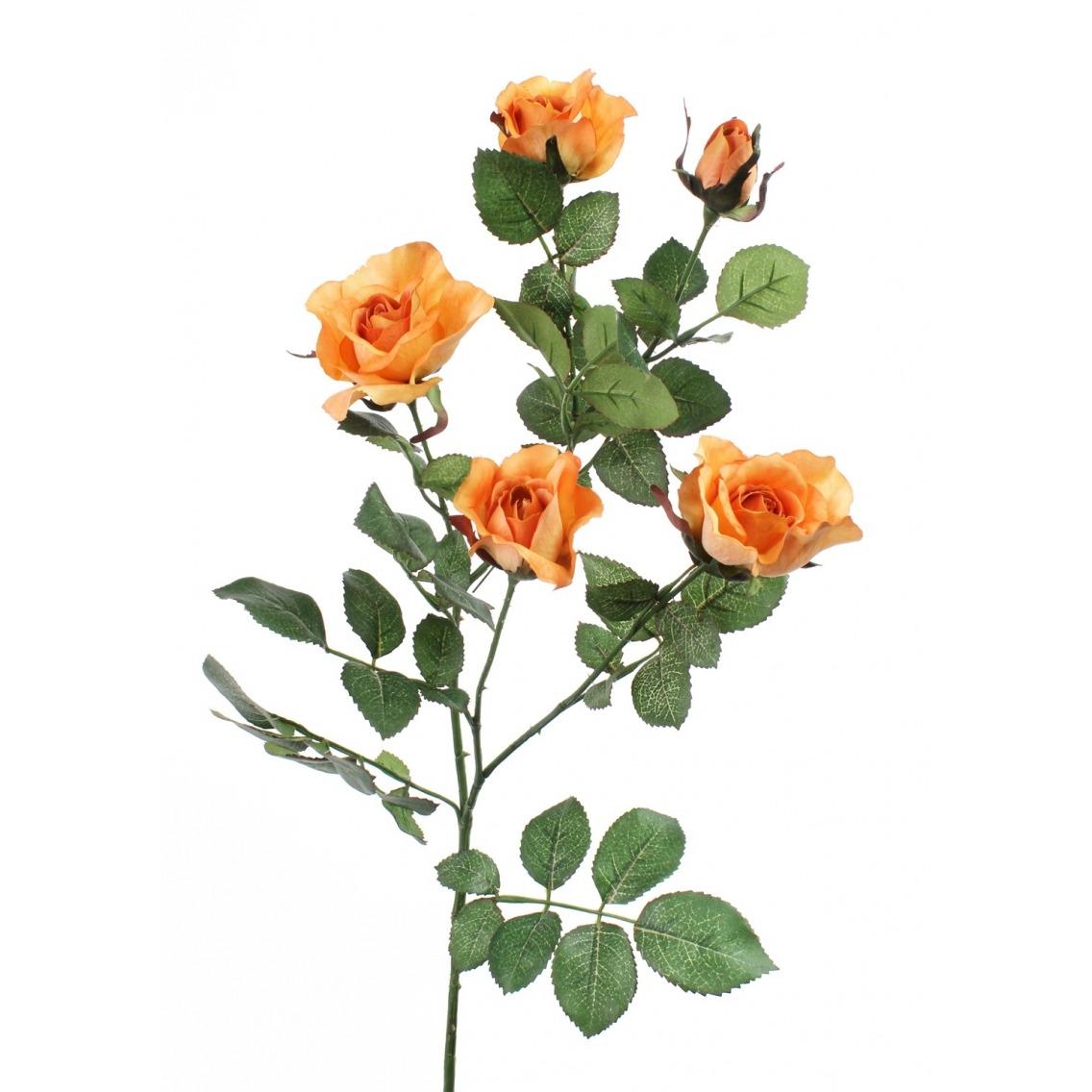 Rose artificielle colibri