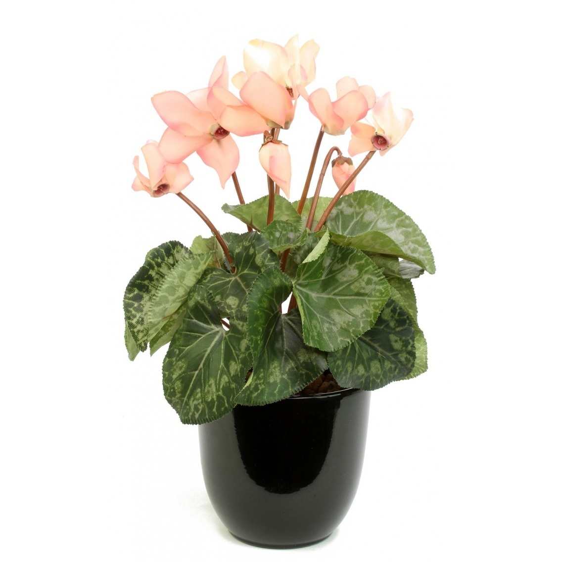Cyclamen artificiel rose