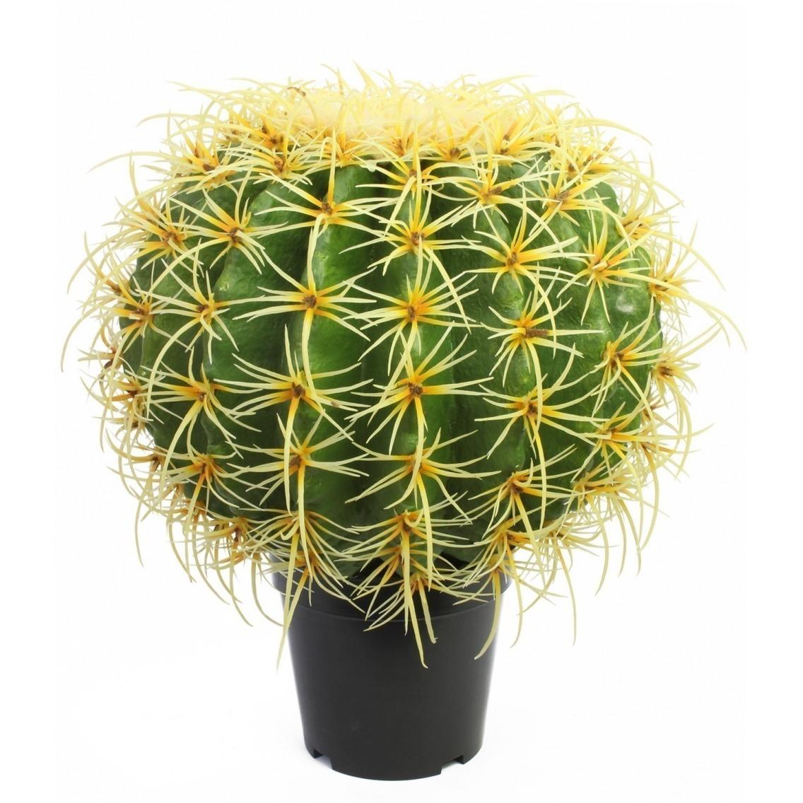 Cactus artificiel en boule