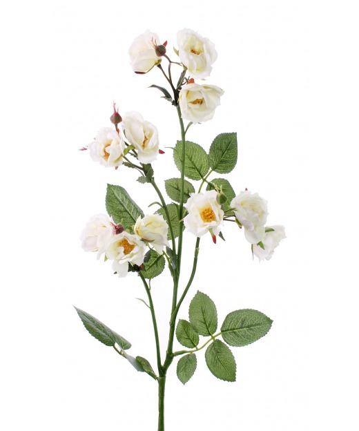 Rose sauvage artificielle 75 cm