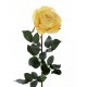 Rose artificielle luxe jaune