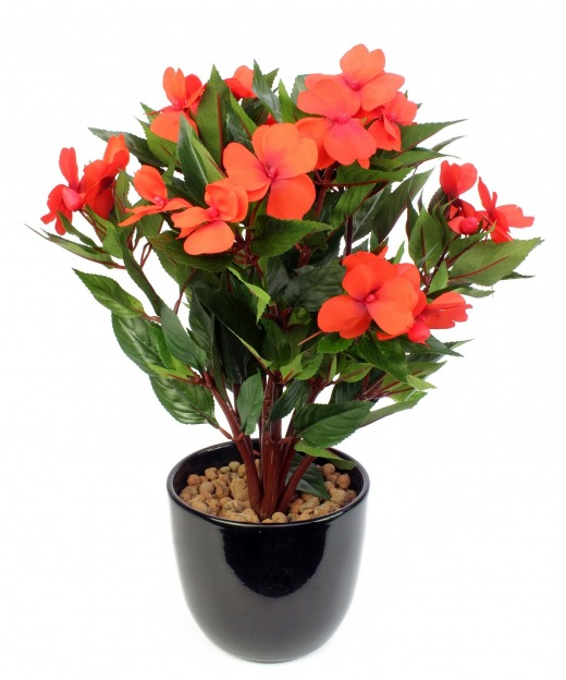 Impatiens artificielle walleriana 45 cm