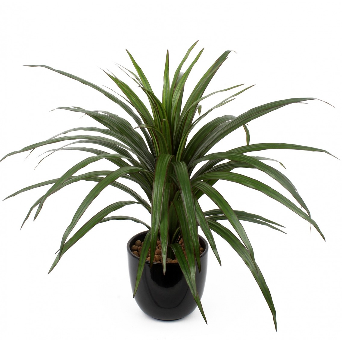 Anthurium artificiel sur tige