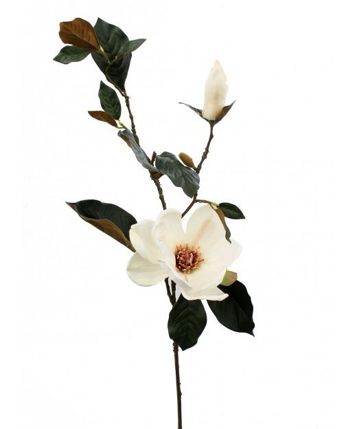 Branche de magnolia artificielle