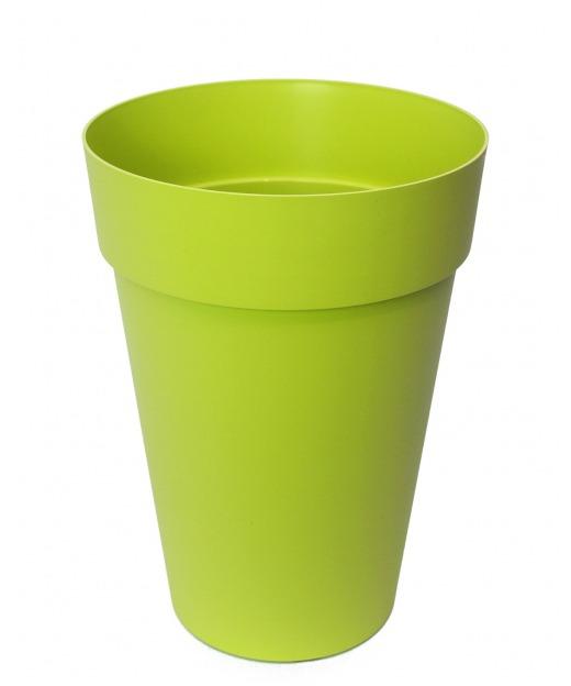 Pot rond haut vert anis