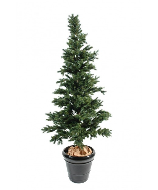 Cyclamen artificiel blanc 32 cm