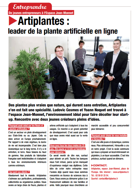 Article journal Hérouville