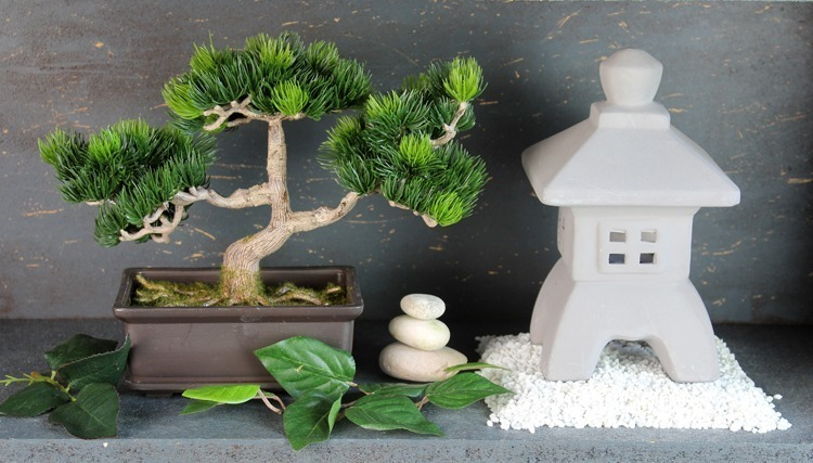 Bonasi artificiel pinus décoration