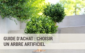 Choisir un arbre artificiel