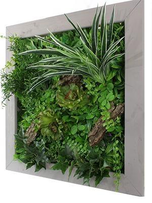 tableau végétal artificiel volume